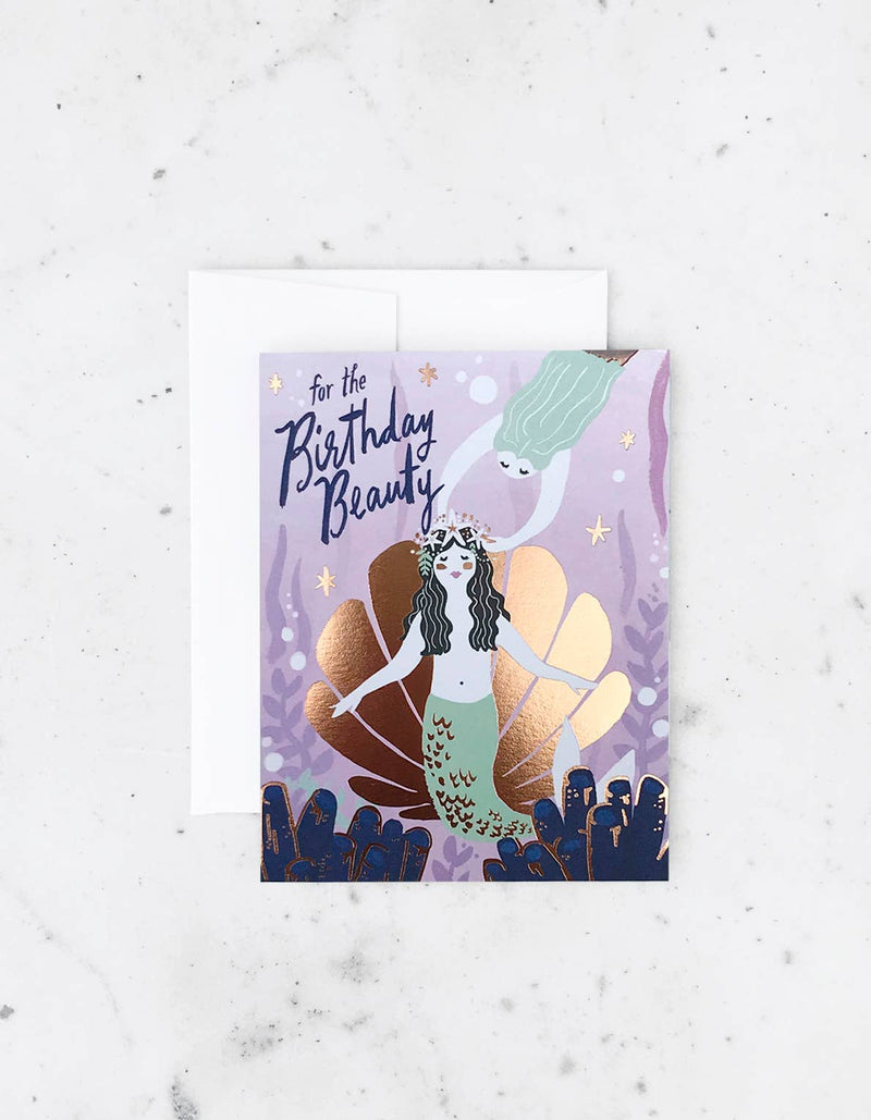 Birthday Beauty Card