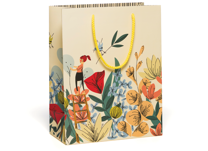 Red Cap Cards // In the Flowers Bag