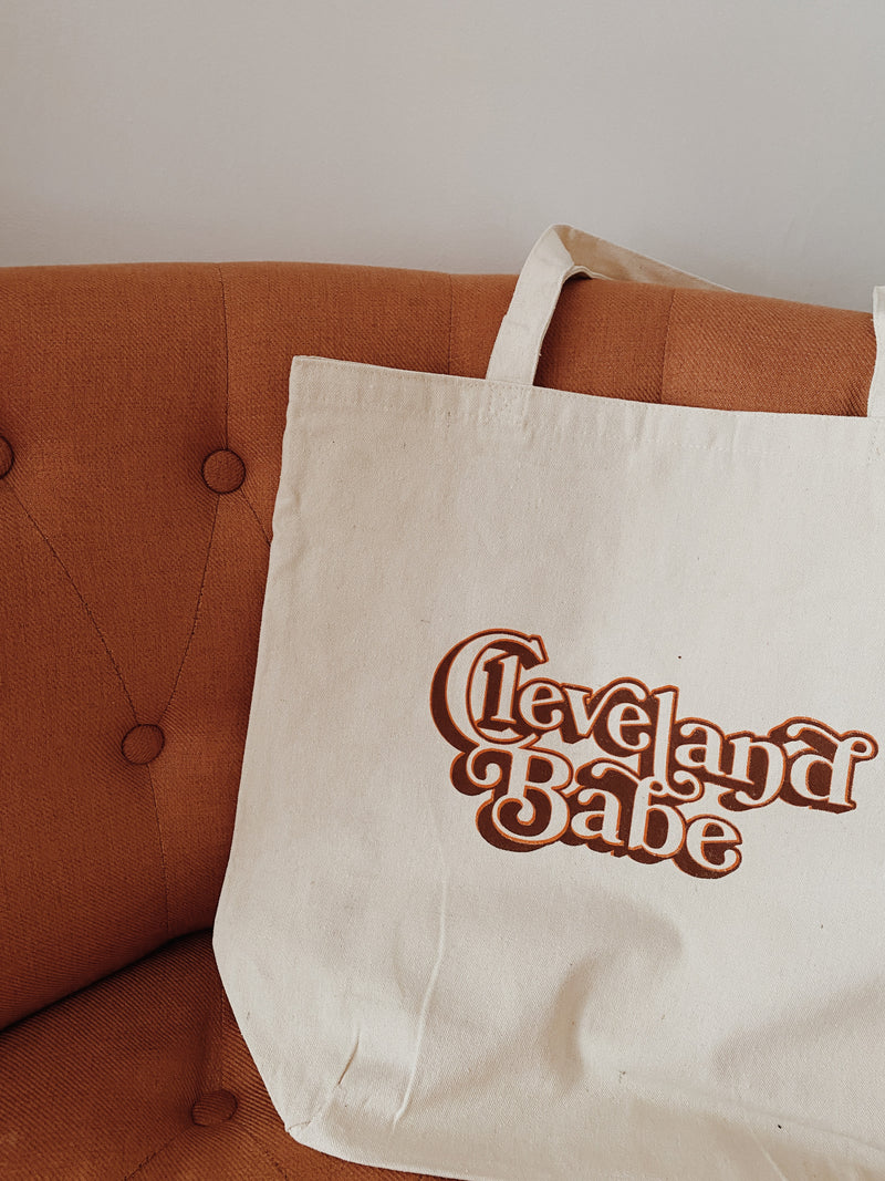 Cleveland Babe Tote Bag