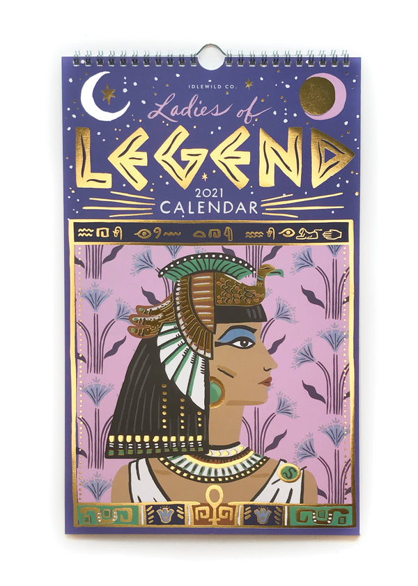 Ladies of Legend 2021 Calendar