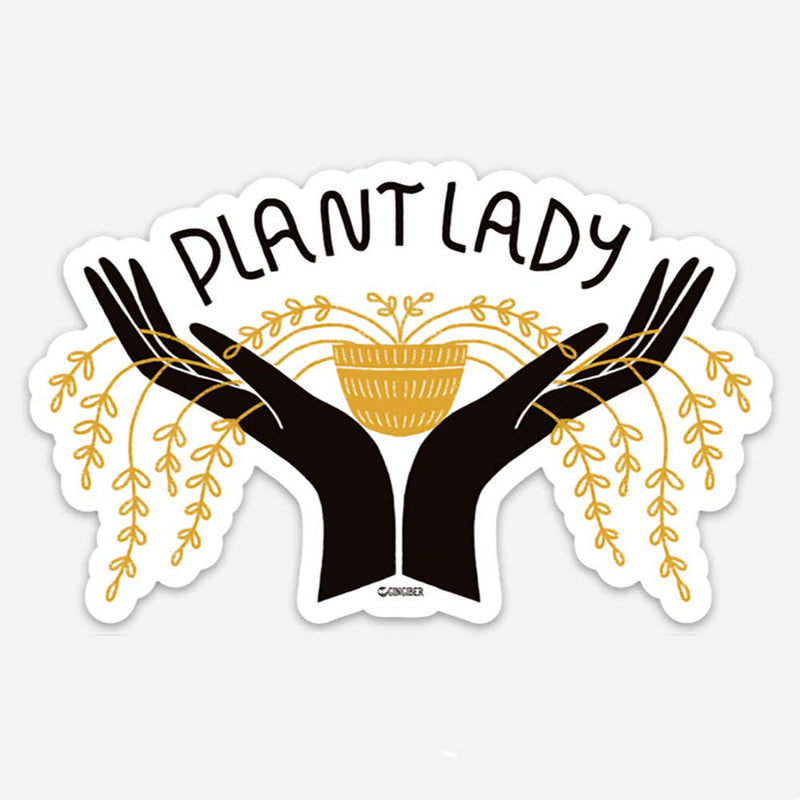 Gingiber // Plant Lady Sticker