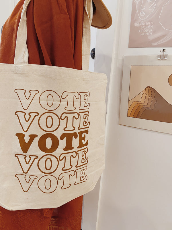SALE! // VOTE Tote Bag