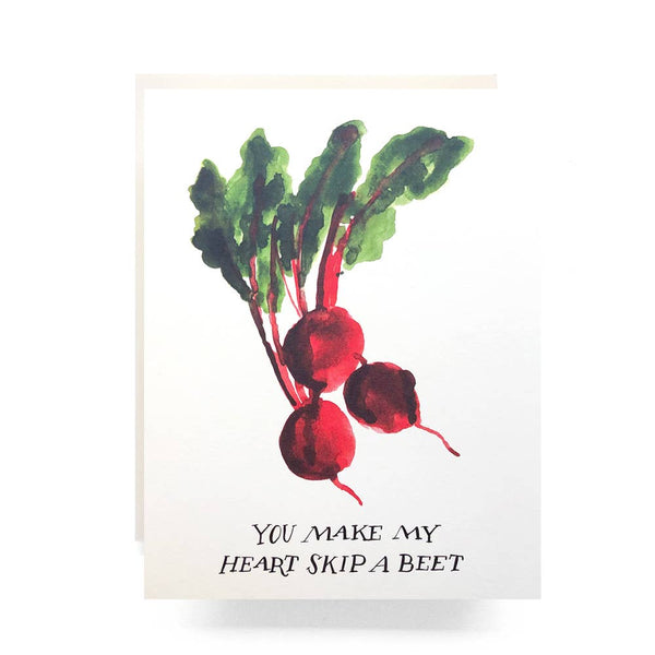 Skip a Beet Greeting Card