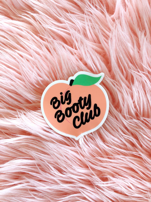 Luella // Big Booty Club Sticker