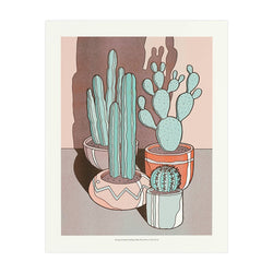 Lucky Horse Press // Sunny Cacti Art Print