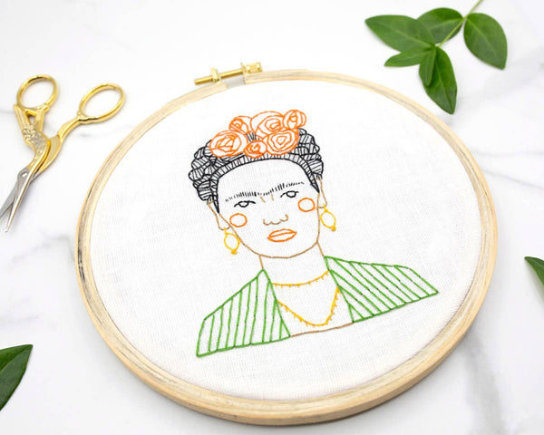 Gingiber // Frida DIY Embroidery Kit