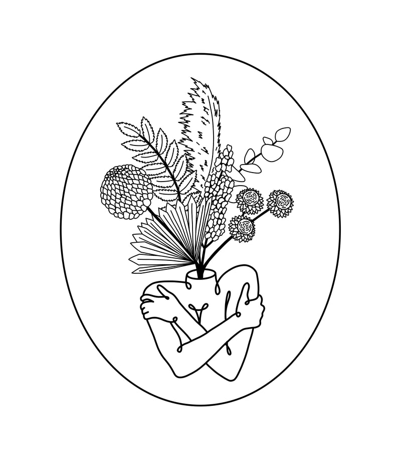 Free Coloring Page // Sauvage
