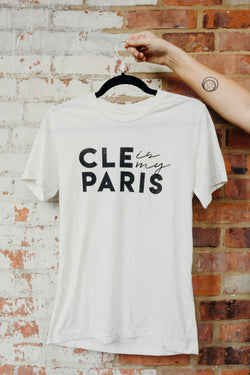 Cleveland is my Paris Logo Tee