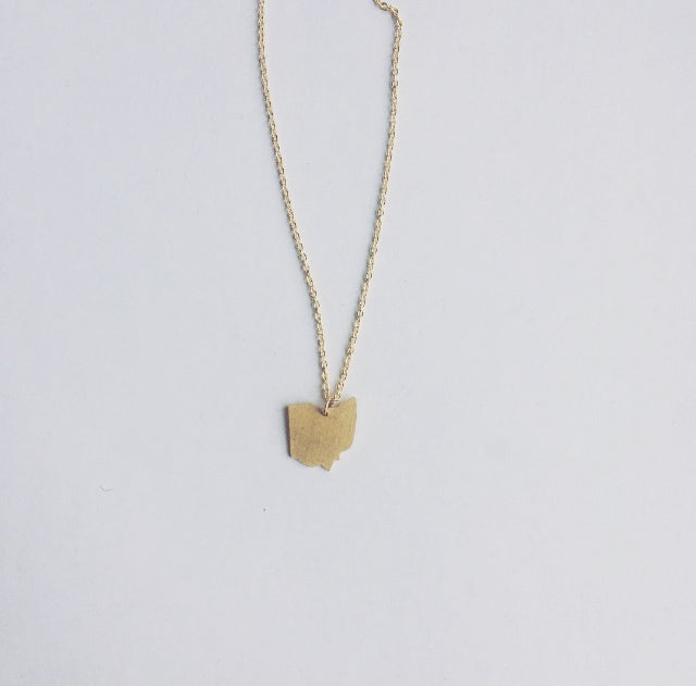 Ohio Love Necklace