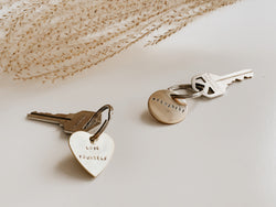 Custom Stamped Key Tags