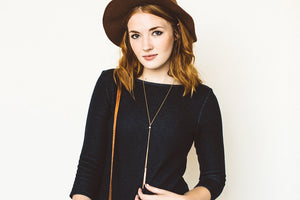 Hex Layering Double Bar Necklace