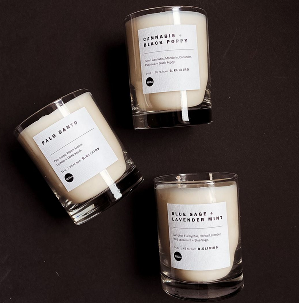 1820 House Candles // B. Elixirs