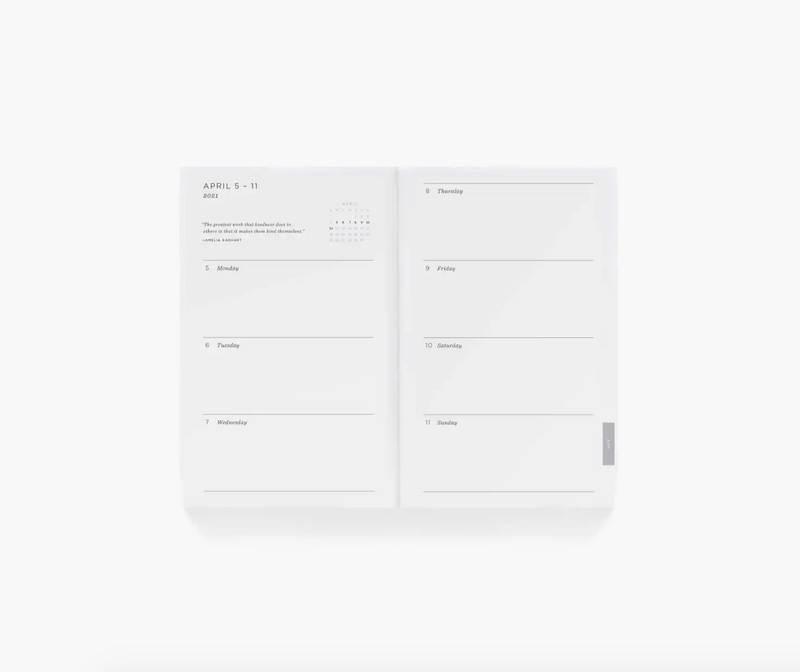 Rifle Paper Co. 2021 12-Month Pocket Planner