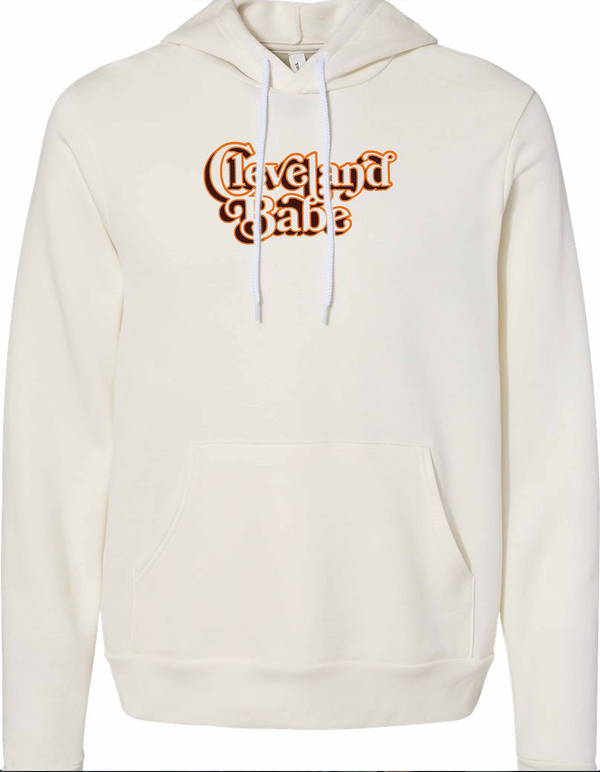 Limited Edition! Cleveland Babe Browns Hoodie