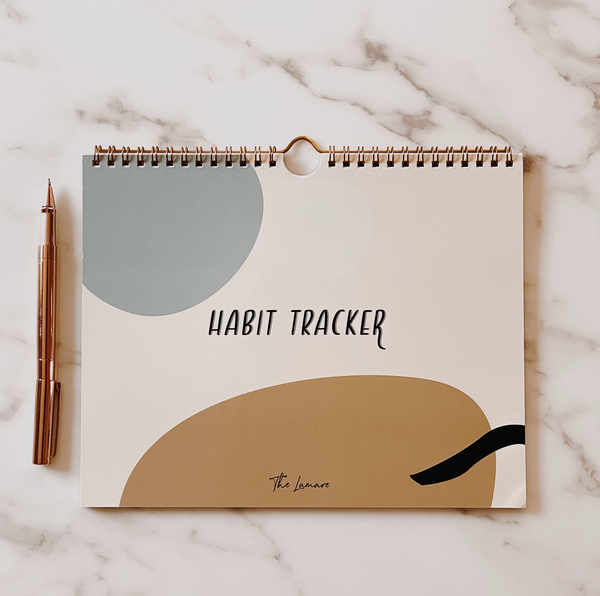 Habit tracker: 12 month calendar
