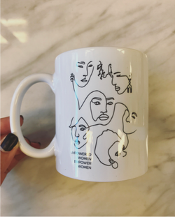 Empowered Women Empower Women Mug // White