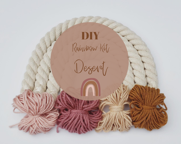 Little Sparrow Co // Diy Rainbow Kit - Desert
