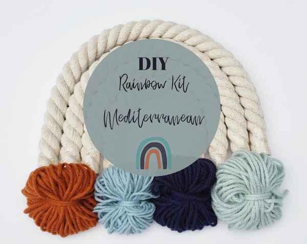 Little Sparrow Co // DIY Rainbow Kit - Mediterranean