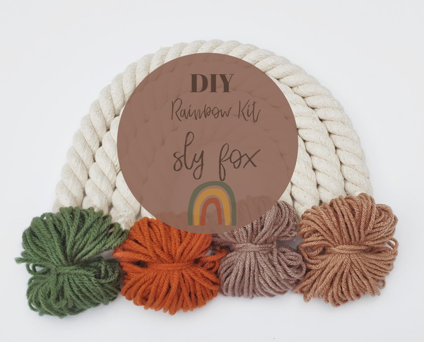 Little Sparrow Co // DIY Rainbow Kit - Sly Fox