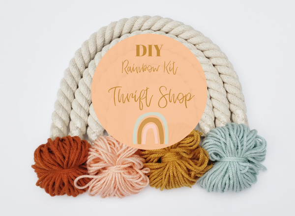 Little Sparrow Co // DIY Rainbow Kit - Thrift Shop