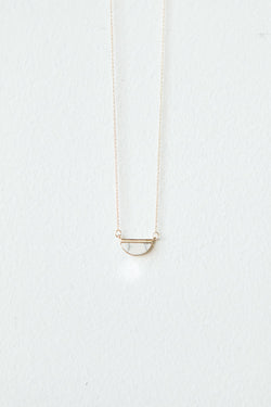 Demi-Lune Necklace