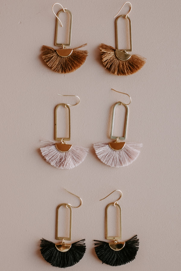 Maya Fringe Earrings