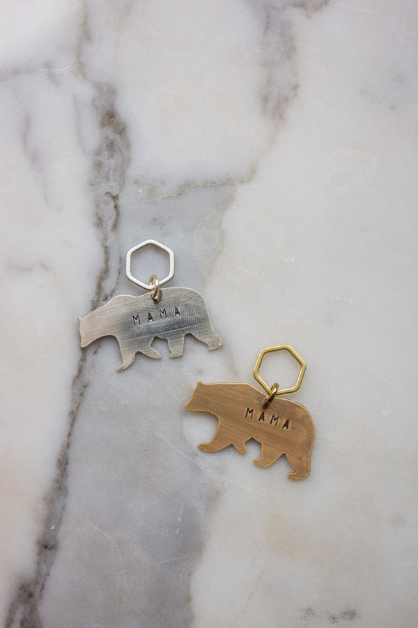 Mama Bear Key Tag