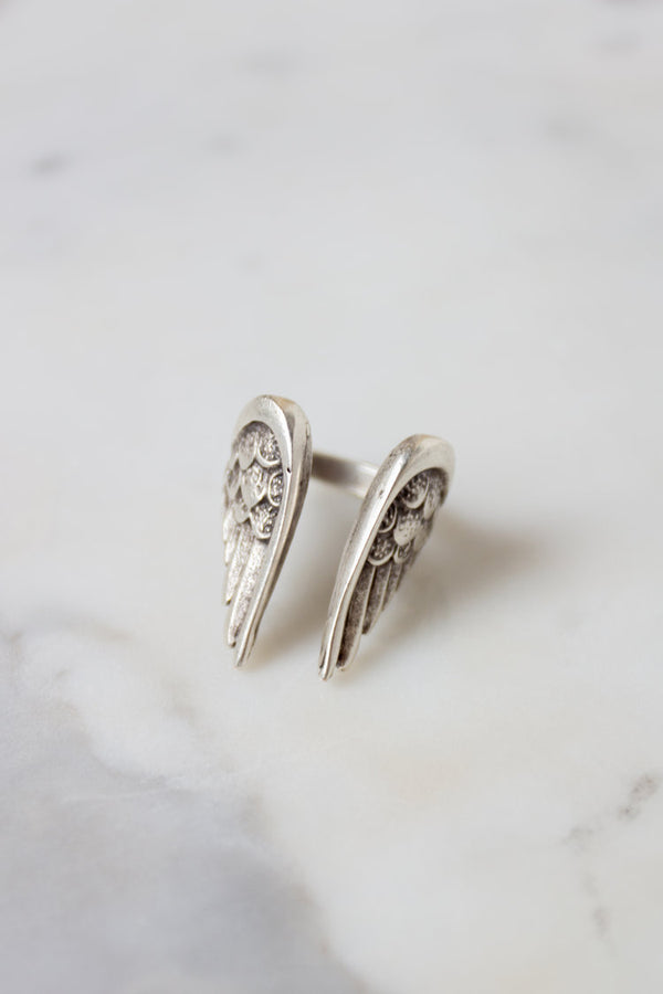 Brass or Silver Wing Rings