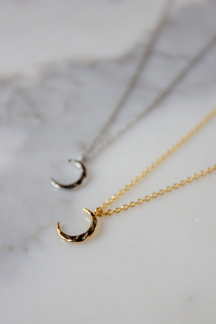 Petite Moon Necklace