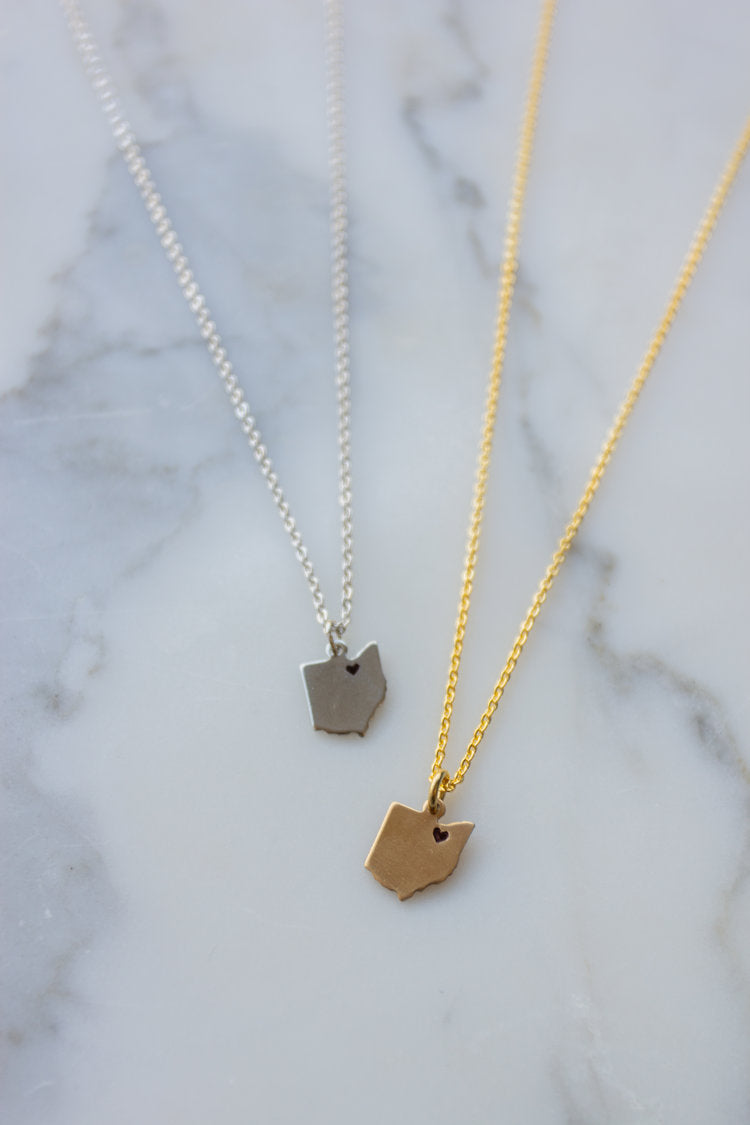Cleveland Love Necklace