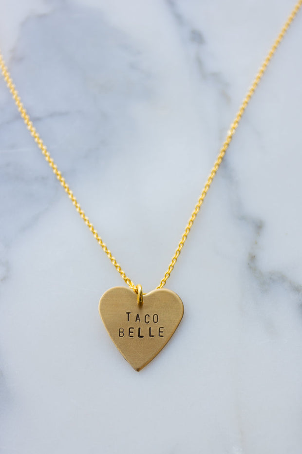 Favorite Things Heart Necklace 1