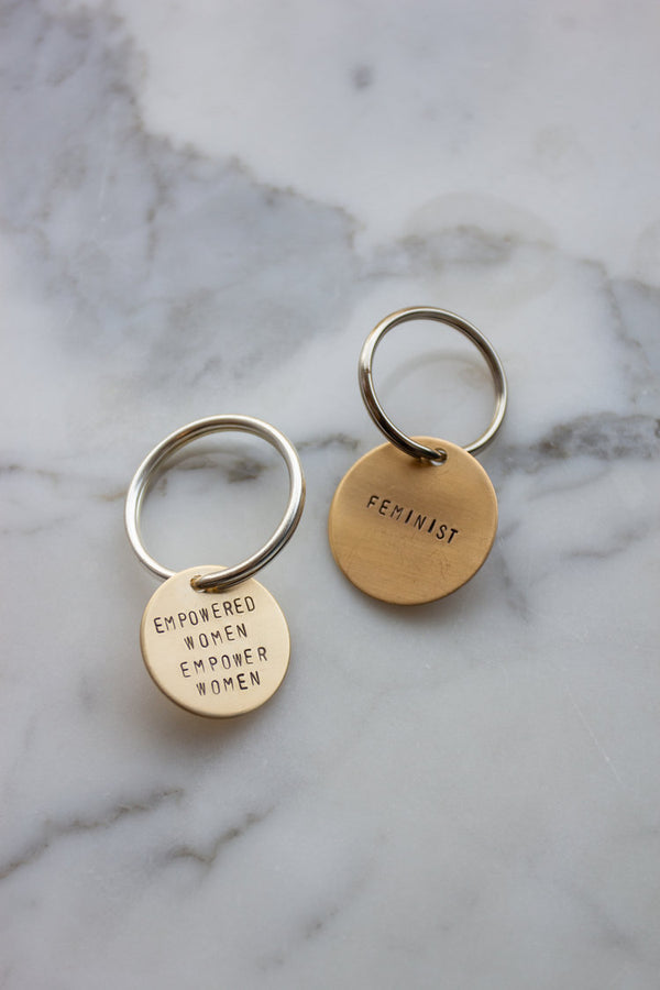 Stamped Key Tags