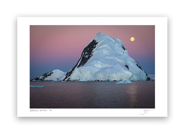 Antarctic Moonrise