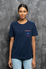 ECHO GOLF T-shirt femmes Aerobatix Bleu vetements pilote avion