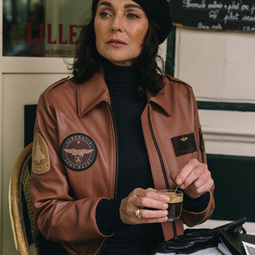 Flight Jacket MERMOZ Flight jacket femme Aerobatix