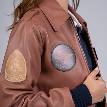 Flight Jacket sur mesure Flight jacket femme Aerobatix