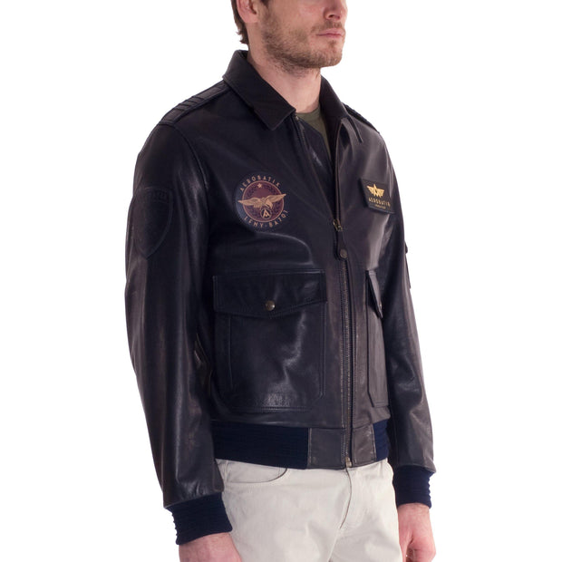 Flight Jacket MERMOZ Aerobatix vetements pilote avion