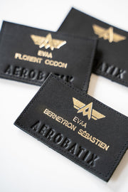 Patch Patronymique Écusson Aerobatix vetements pilote avion