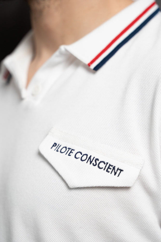 Polo Pilote Conscient Polo hommes Aerobatix vetements pilote avion