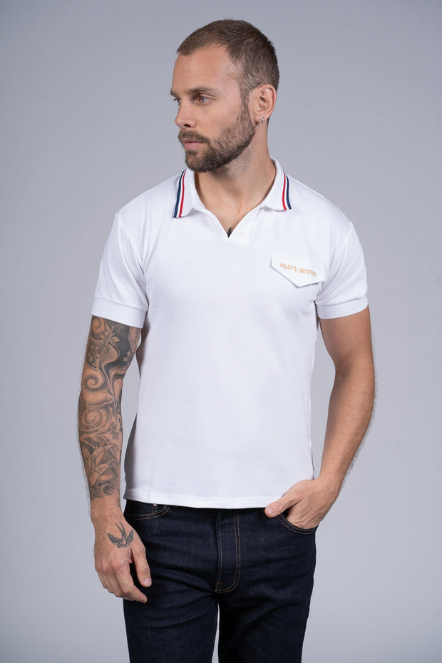Polo Rêve Polo hommes Aerobatix vetements pilote avion