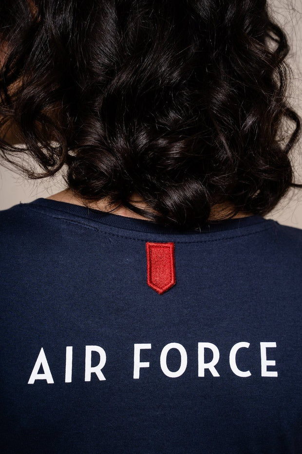 T-shirt AirForce T-shirt femmes Aerobatix vetements pilote avion