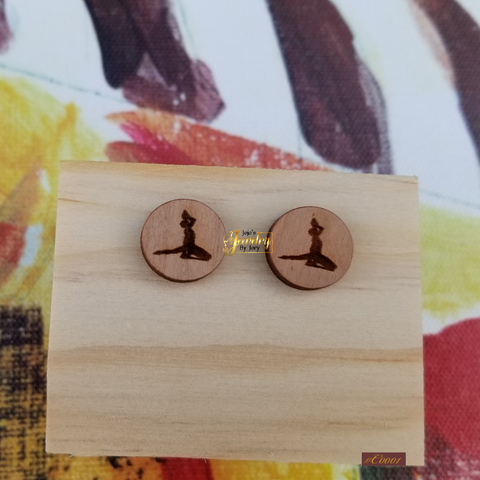 Nèg Mawon Stud Earrings