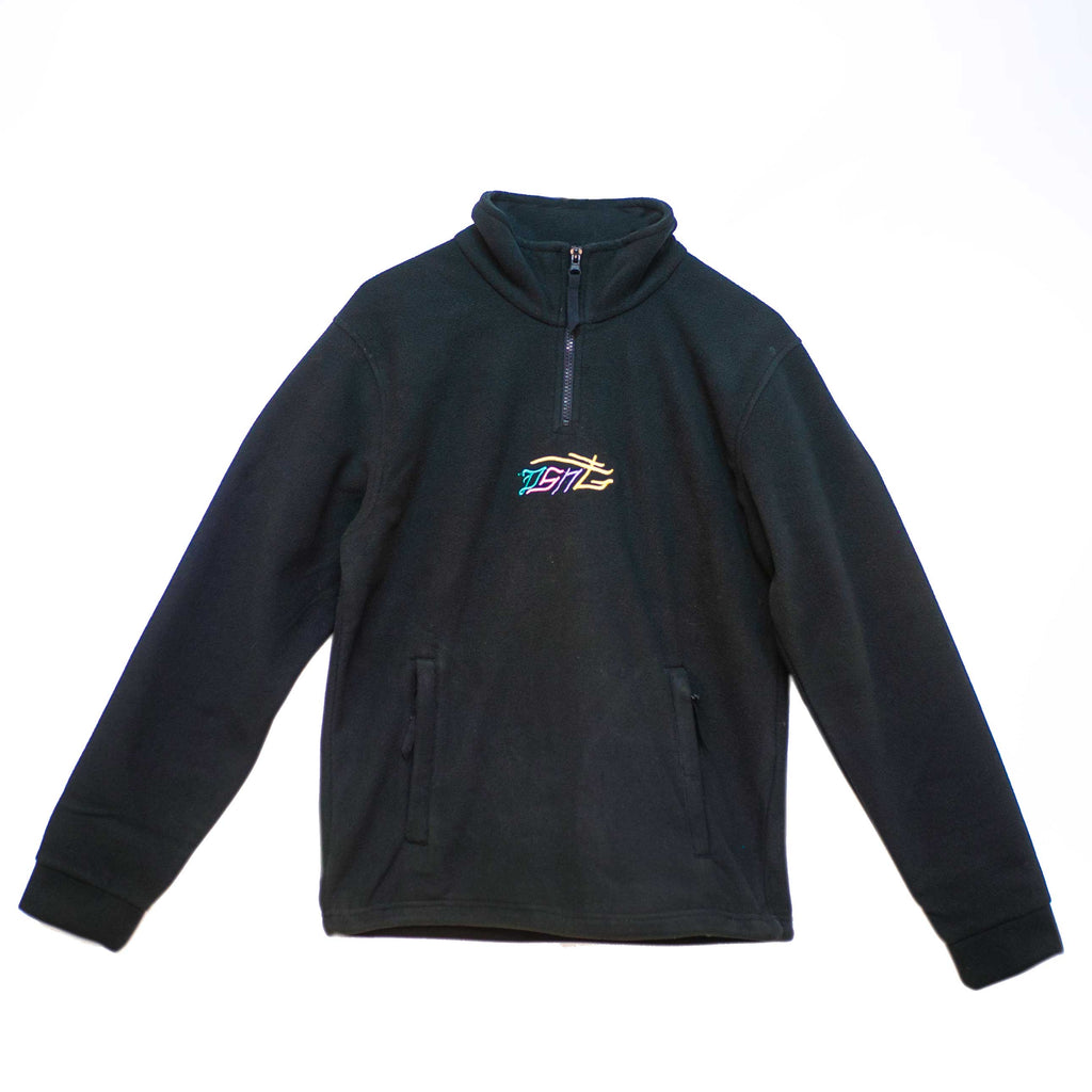 PRE ORDER: DSNT ¼ ZIP FLEECE: Multi Embroidery