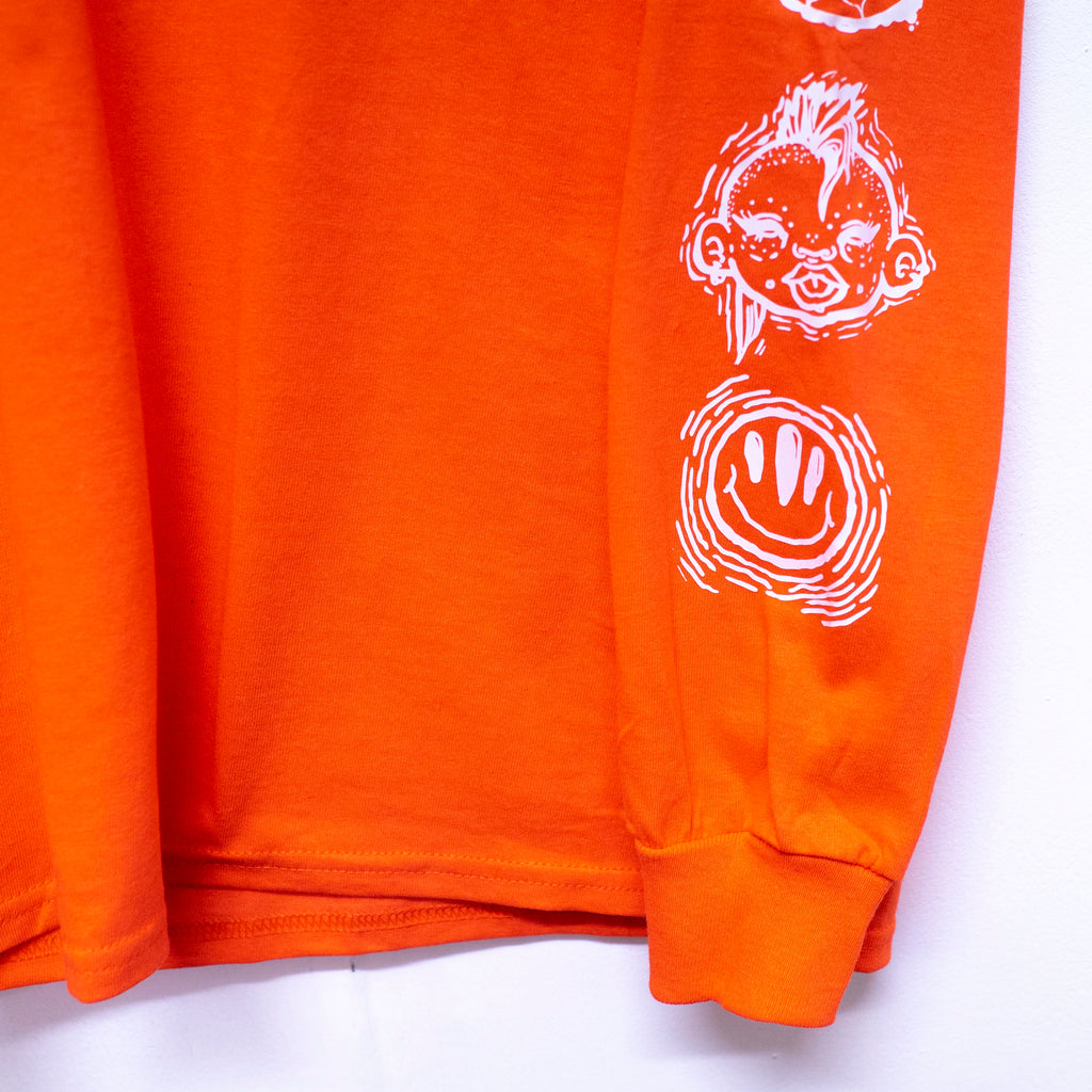 DSNT Icons Long Sleeve T-Shirt [Orange]
