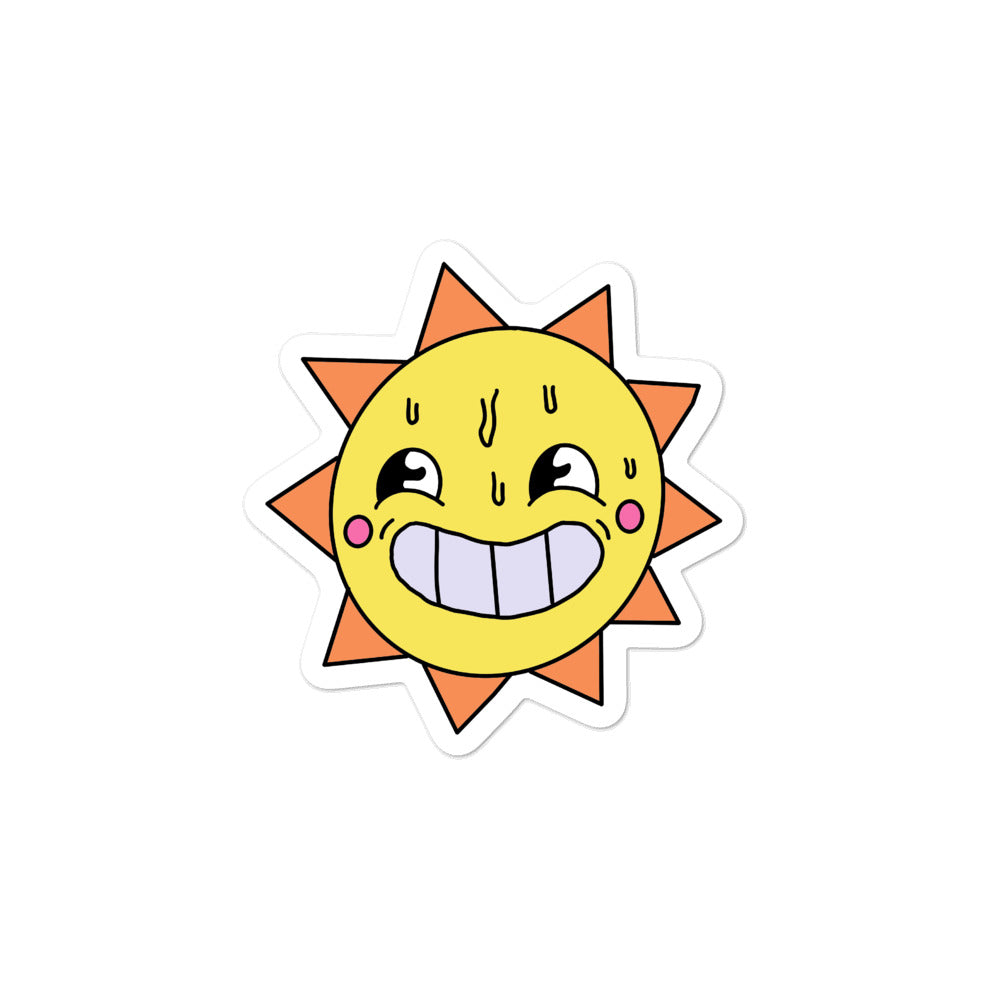 Wee Nuls x DSNT: Sunshine Smiles Sticker