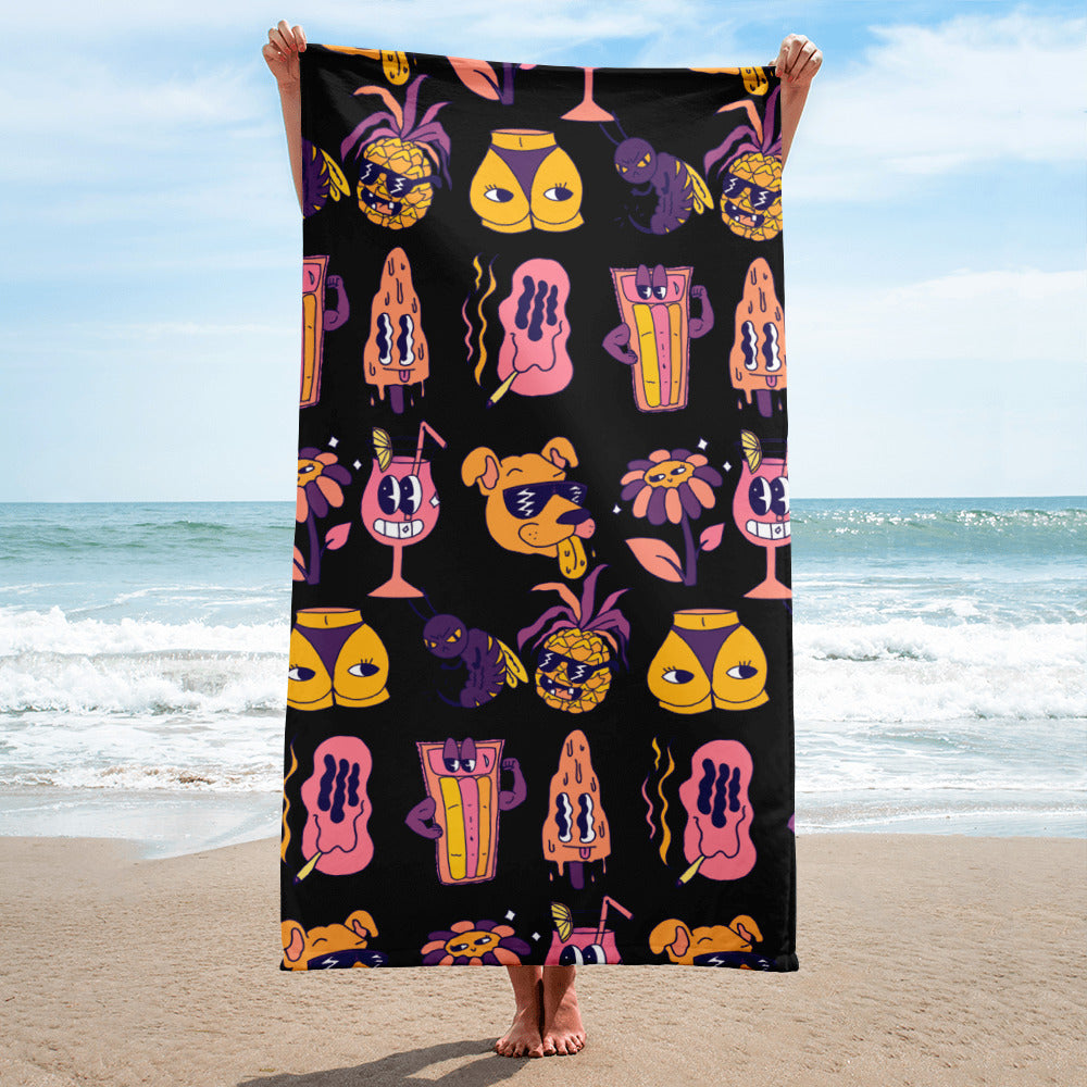 Wee Nuls x DSNT: Dream of Summer Print Beach Towel
