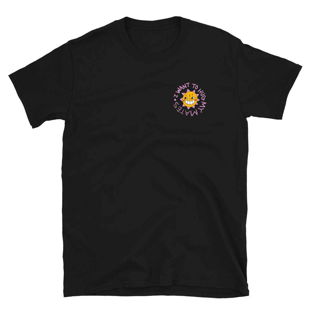 Wee Nuls x DSNT: Sunny Hugs T-Shirt [Black]