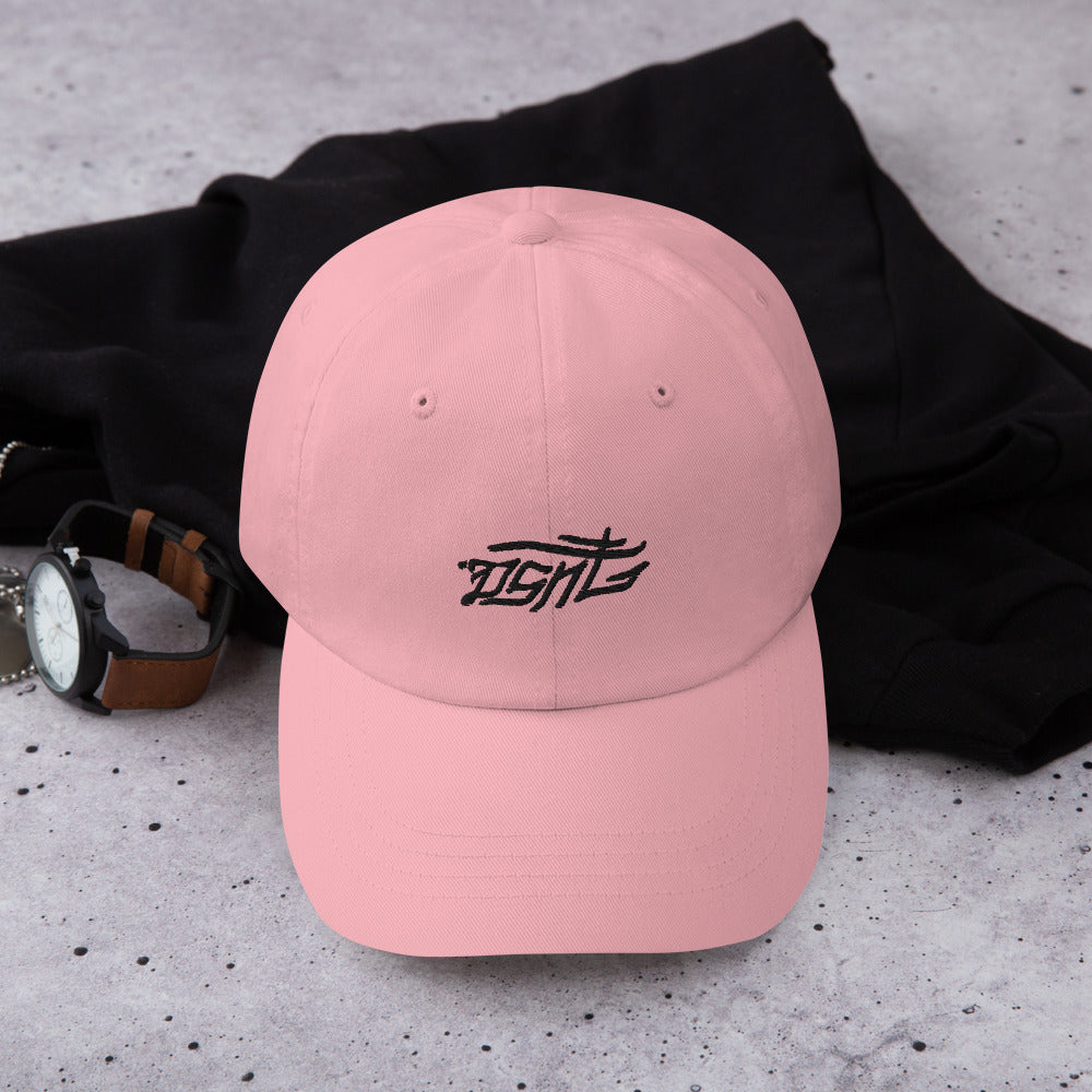 DSNT Typography Pink Hat.