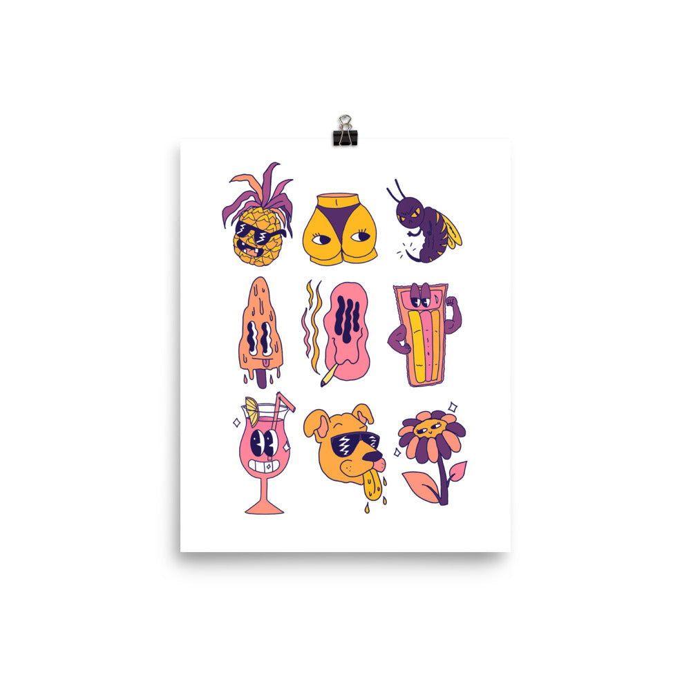 Wee Nuls x DSNT: Dream of Summer Giclee Print