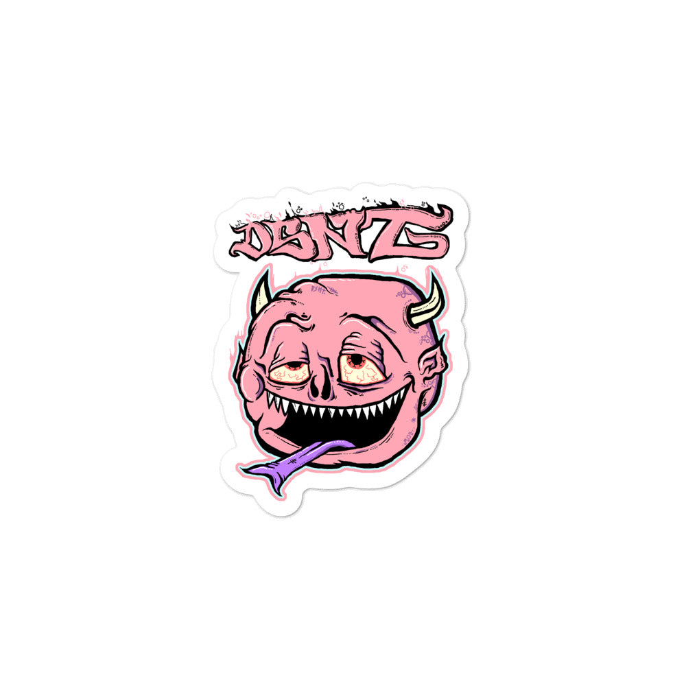 Stoned Devil Sticker